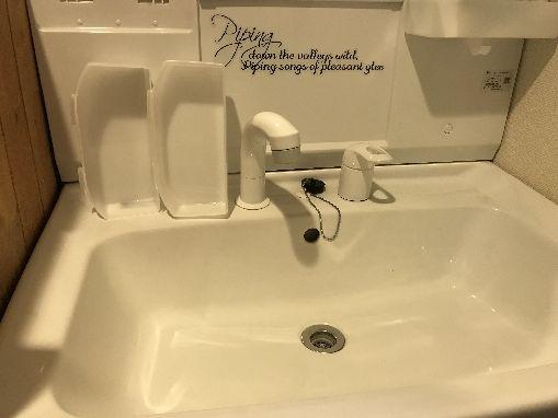 オキシクリーンで洗面台をオキシ漬け