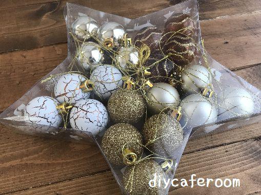 ニトリクリスマスツリーオーナメント