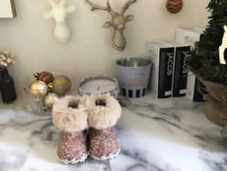 ニトリのクリスマスサンタブーツ