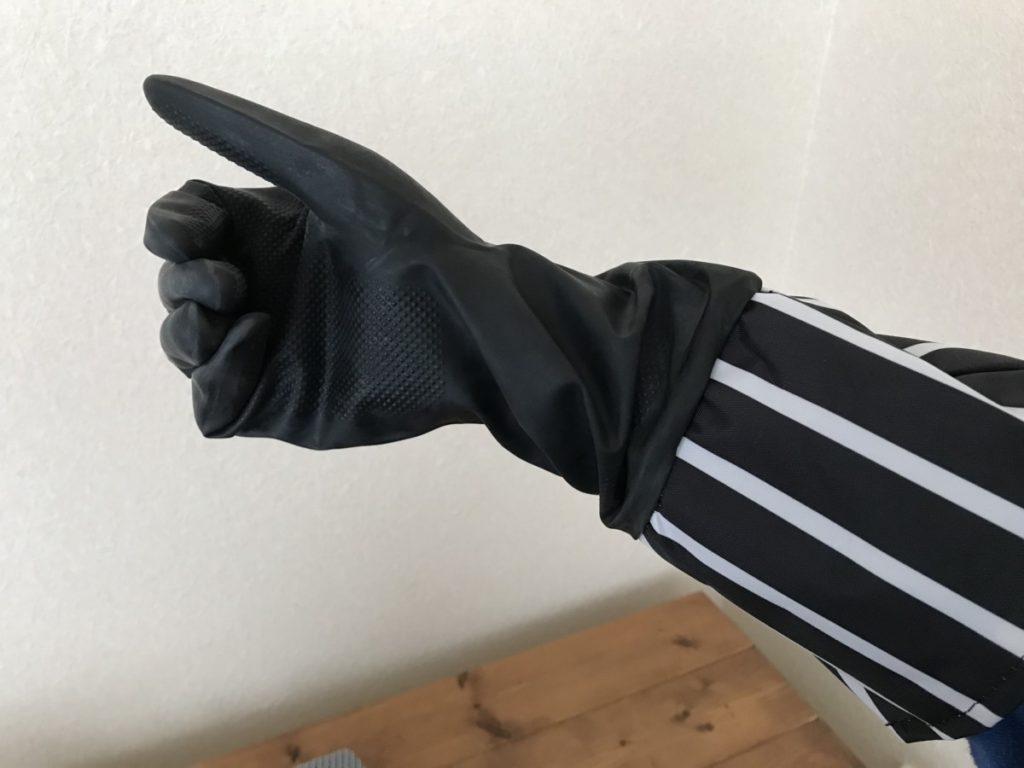キャンドゥ ゴム手袋