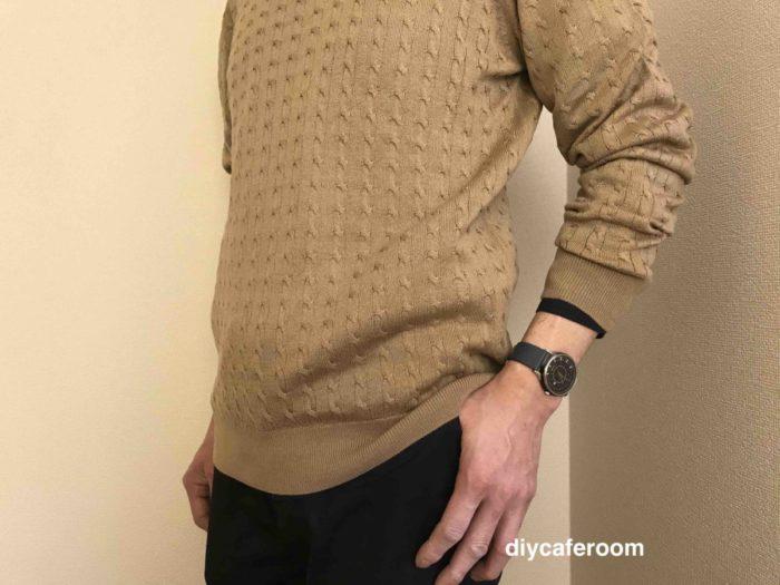 ナノユニバースのセーター