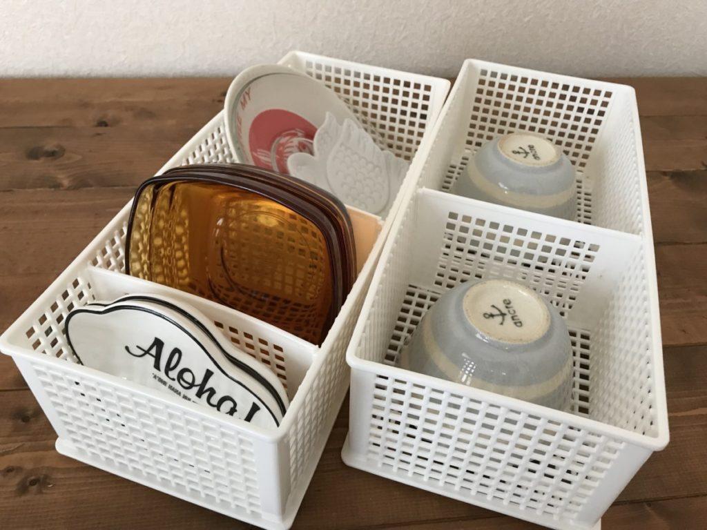 食器棚収納セリア