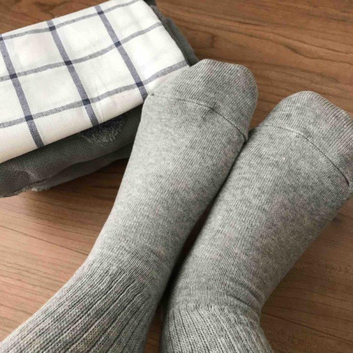 無印良品の靴下