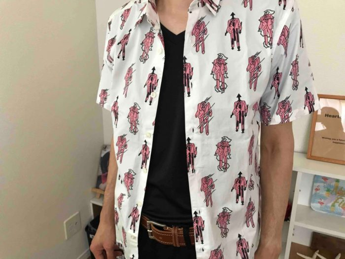 ルコックのメンズTシャツ